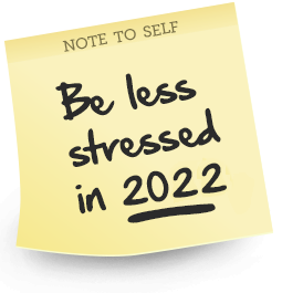Feel Less Stressed 2018